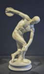 Discobolus in National Roman Museum Palazzo Massimo alle Terme 90 150